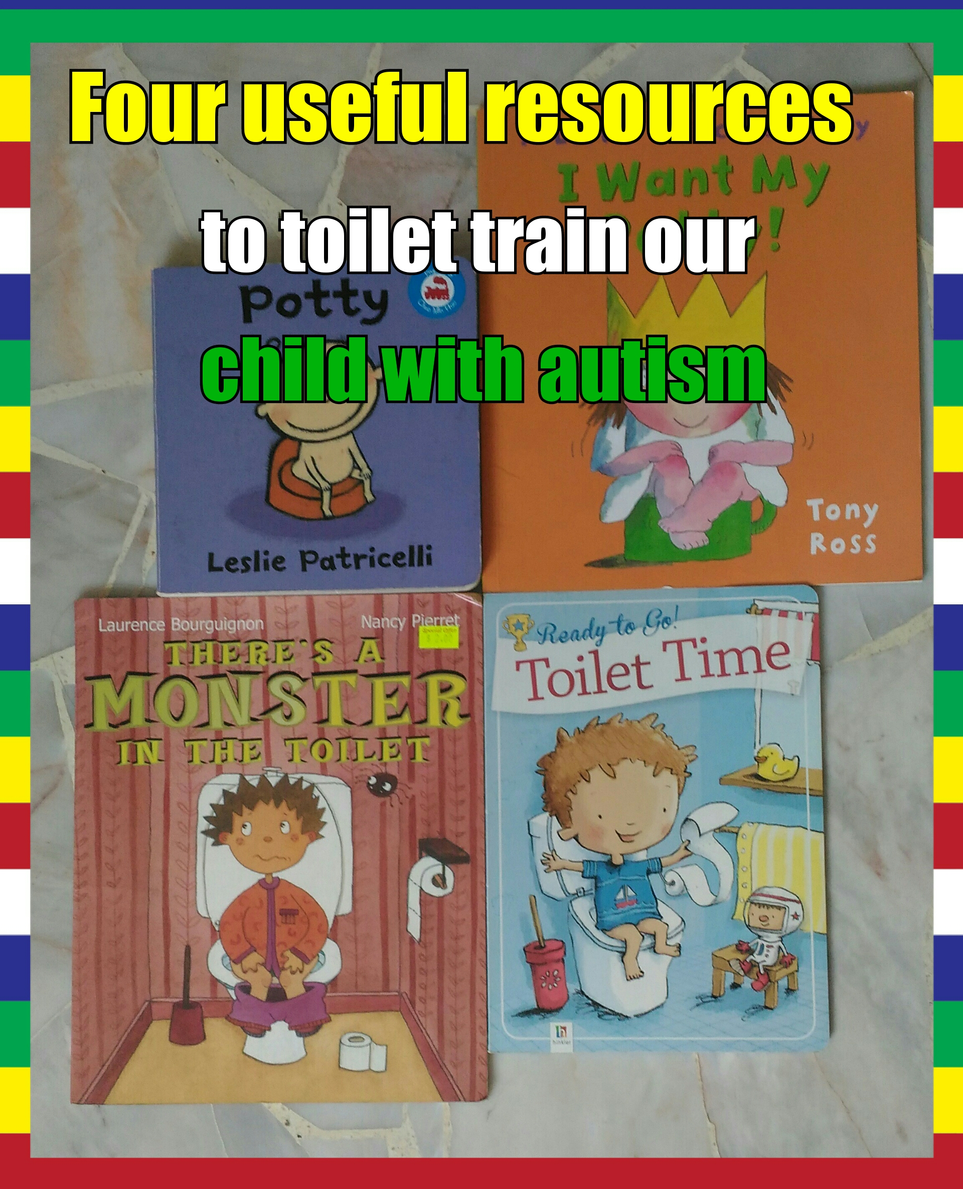 Toilet-training our child
