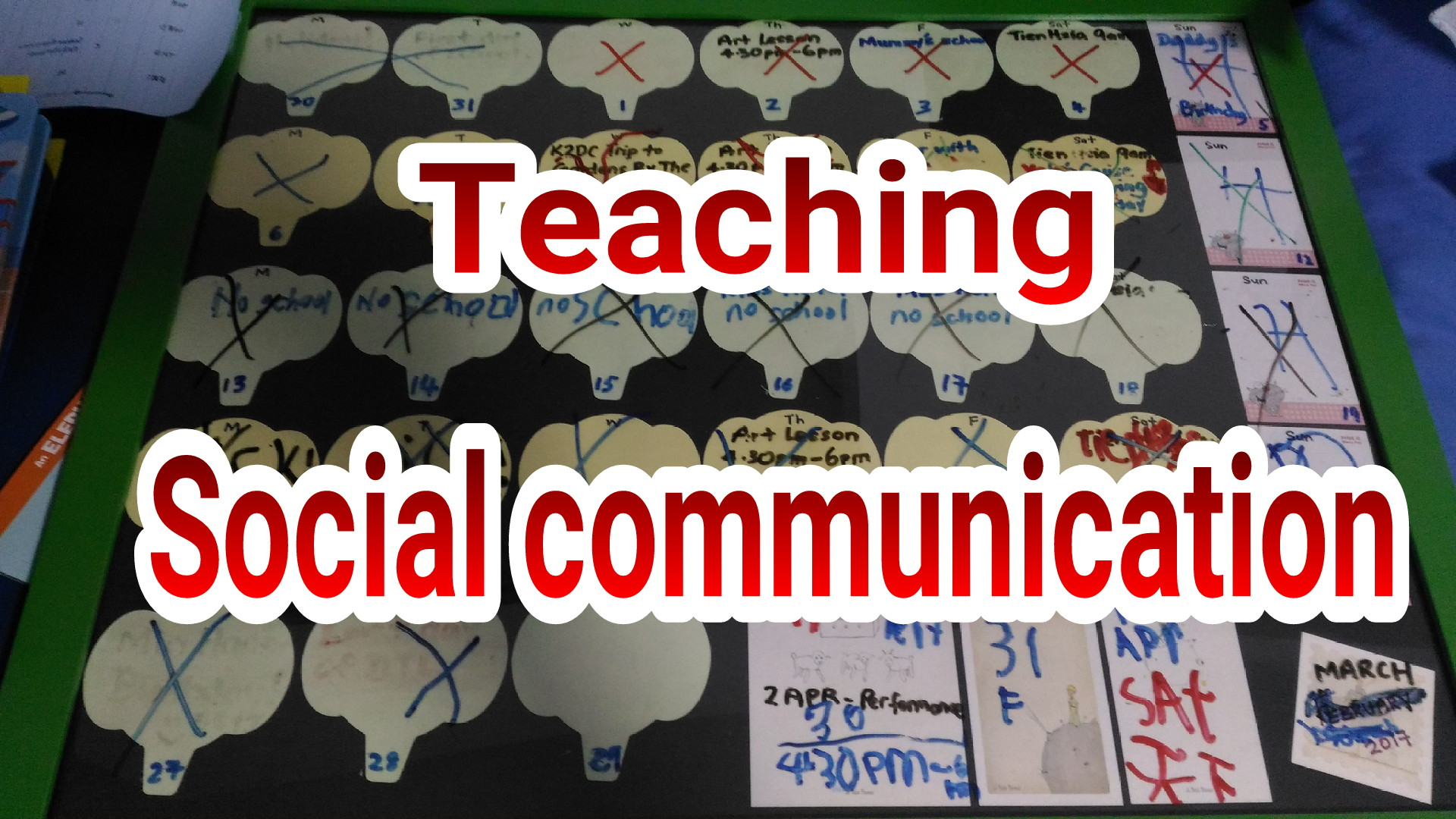 A series of lessons on Social Communication